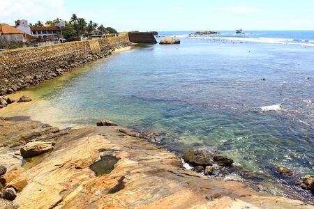 galle: The Galle Fort. Sri Lanka Stock Photo