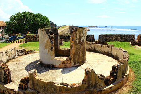 galle: Destroyed an observation deck, Galle