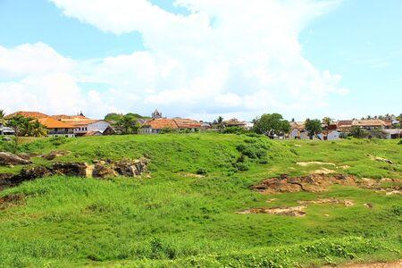 galle: The inner area of Galle Fort, Sri Lanka Stock Photo