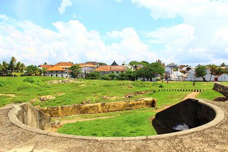 galle: Bastion, Fort Galle, Sri Lanka