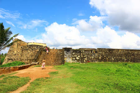 galle: Stairs, Galle Fort Editorial