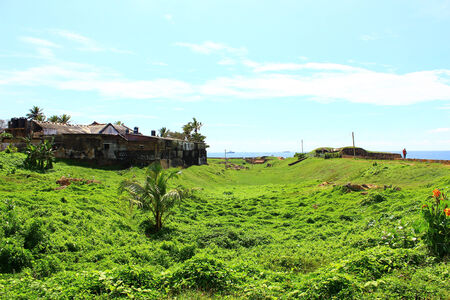 galle: The Galle Fort, view from inside Editorial