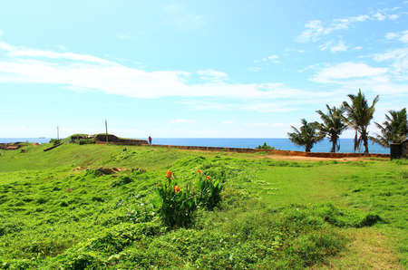 galle: The Galle Fort in the Indian ocean