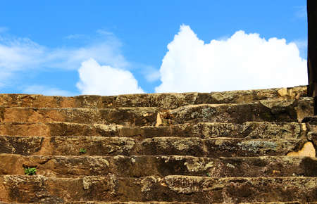 galle: Stairs in Galle Fort Editorial
