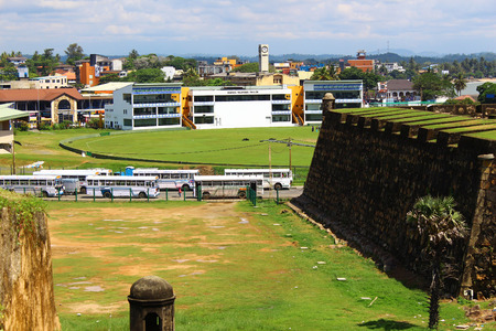 galle: View from the Fort of Galle city Editorial