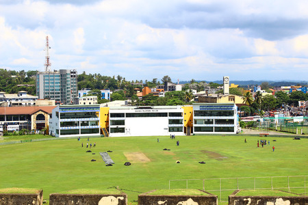 galle: The Cricket stadium in Galle