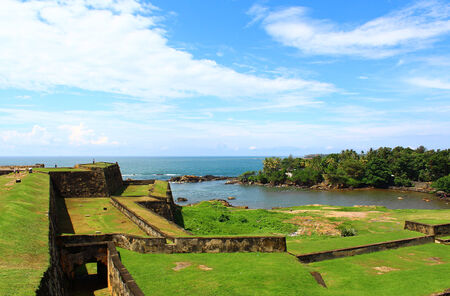 galle: The Dutch Fort in Galle Editorial