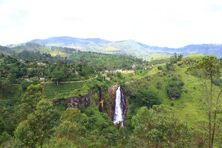 devon: Waterfall Devon, Sri Lanka