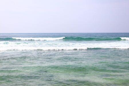 ocean waves: Waves in the Indian ocean Stock Photo