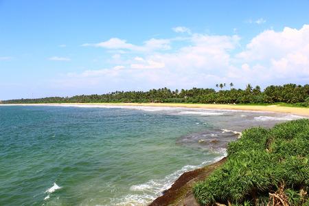 Long, uncrowded beach of Bentota photo