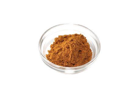 seasoning: Seasoning of Curry on a white background Stock Photo
