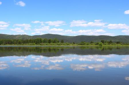 endless: Kan River and endless taiga