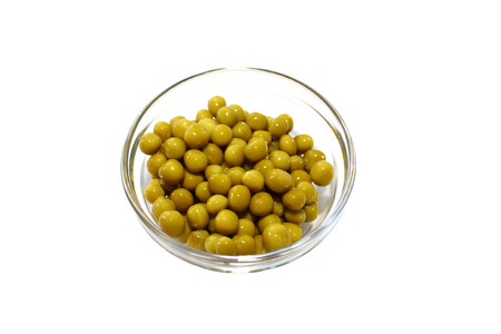 canned peas: Green canned peas