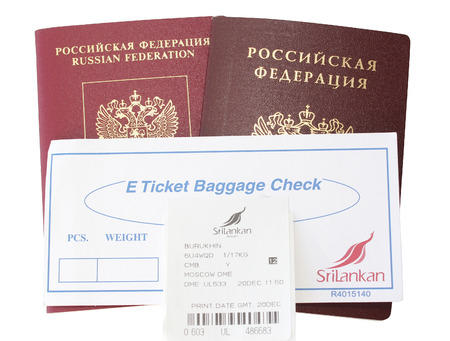 issuing: Ticket for issuing baggage
