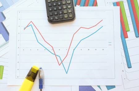 regression: The recession, stagnation and rising graph