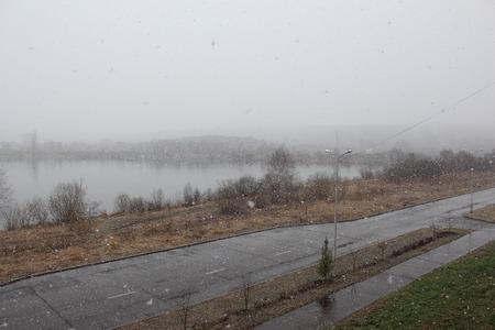 precipitación: La precipitación en forma de nieve