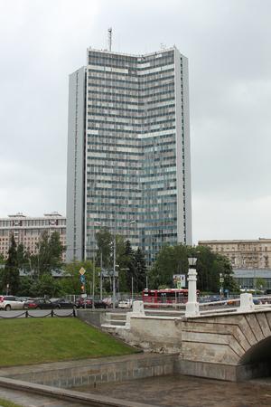servicios publicos: El edificio del Comité Municipal de Moscú de los servicios públicos