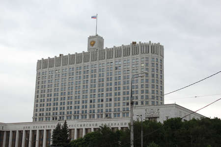 ministers: The White House in Moscow