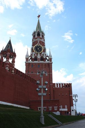 spassky: Moscow. Spasskaya (Frolov) Tower