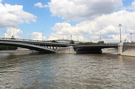 kotelnicheskaya embankment: Large Ustyinsky bridge and the bridge on Kotelnicheskaya embankment