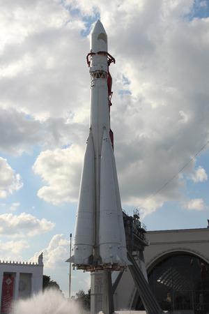 vostok: The rocket at VDNKh