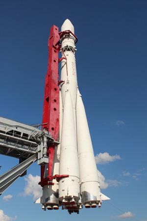 Carrier rocket Vostok-1 at VDNKh (Russian Exhibition Center)