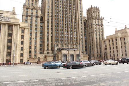 foreign affairs: The building of the Ministry of Foreign Affairs. Moscow