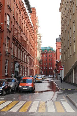 Moscow, 4th Golutvinsky lane