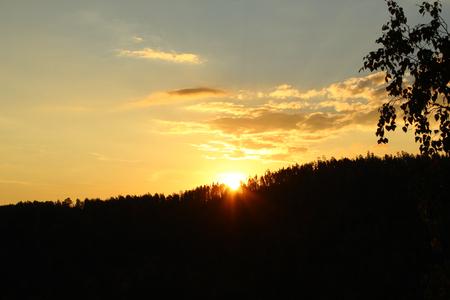 Colorful sunset Stock fotó