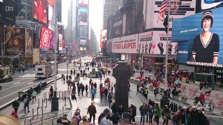USA, New York state, New York, January 22,2017. Times Square in New York Sajtókép