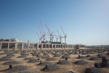 MEDINA, SAUDI ARABIA - APRIL 21, 2016 : Jannat Al-Baqi' (Garden Of Baqi) Is A Cemetery In Medina, Saudi Arabia, Located To The Southeast Of The Masjid Al-Nabawi (The Prophets Mosque) Editorial