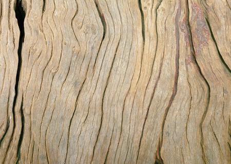 Background and texture of old wooden floor with broken