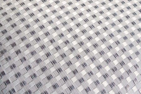 Abstract background and texture of mesh gray woven Stock Photo