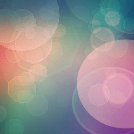blurred lights: Purple, green, blue and pink  pastel colorful background. bokeh  blurred lights background
