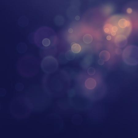 fondo elegante: Purple festivo de Navidad elegante fondo abstracto con las luces de bokeh y las estrellas