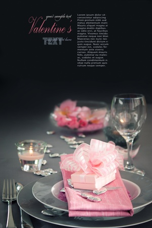 dinning table: Restaurant series. Valentine