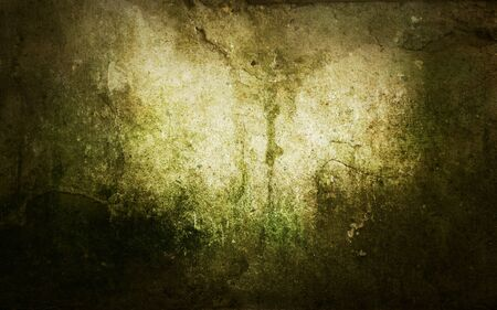 paint peeling: Grunge abstract background with mould stains over an old wall