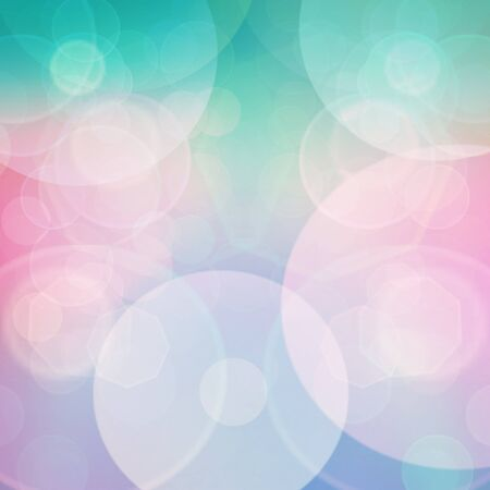 defocus: Purple, green, blue and pink  pastel colorful background. bokeh  blurred lights background