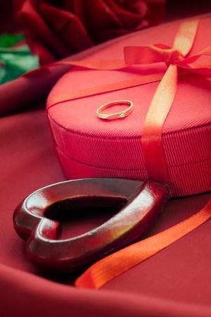 Valentines red theme Stock Photo - 11941744