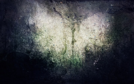 moulded: Grunge abstract background with mould stains over an old wall