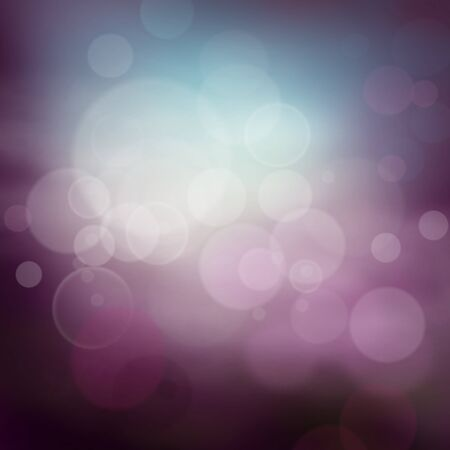 Abstract  background with purple colors and bokeh lights. Stock Photo - 12440827