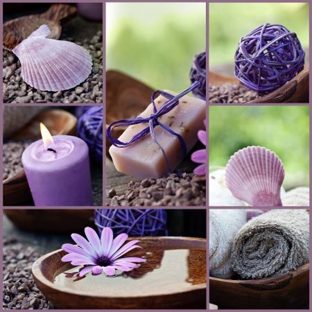 piedras zen: Spa collage