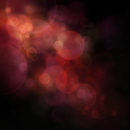 Orange and black Festive Christmas  elegant  abstract background with  bokeh lights and stars photo