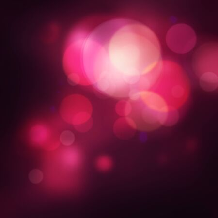 flash light: Purple Festive Christmas elegant abstract background with bokeh lights and stars