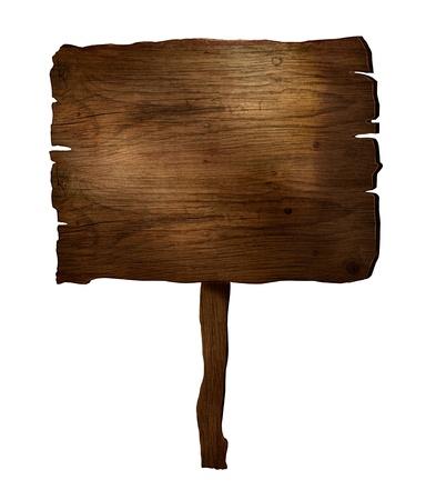 letreros: Los elementos de dise�o 3D de mesa de madera r�stica signo tabl�n de madera