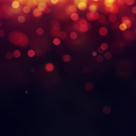 rojo: Fondo púrpura festivo de Navidad. Fondo elegante abstracto con el bokeh desenfocado luces y estrellas