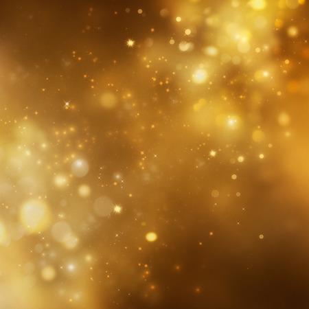 sylwester: Boże Narodzenie w tle. Uroczysty Narodzenie abstrakcyjne tło z bokeh nieostre światła i gwiazdy Zdjęcie Seryjne