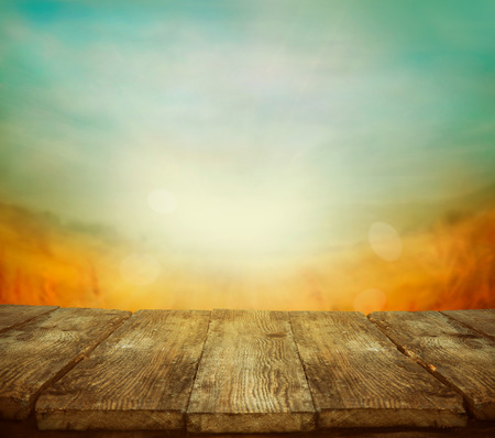 Autumn or summer abstract nature background. Summer or autumn sunset. Nature design