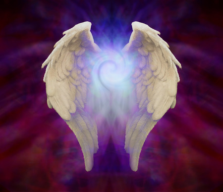 energy healing: Angel Wings and Universal Spiral