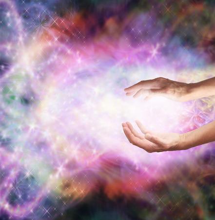 魔法の癒しのエネルギー